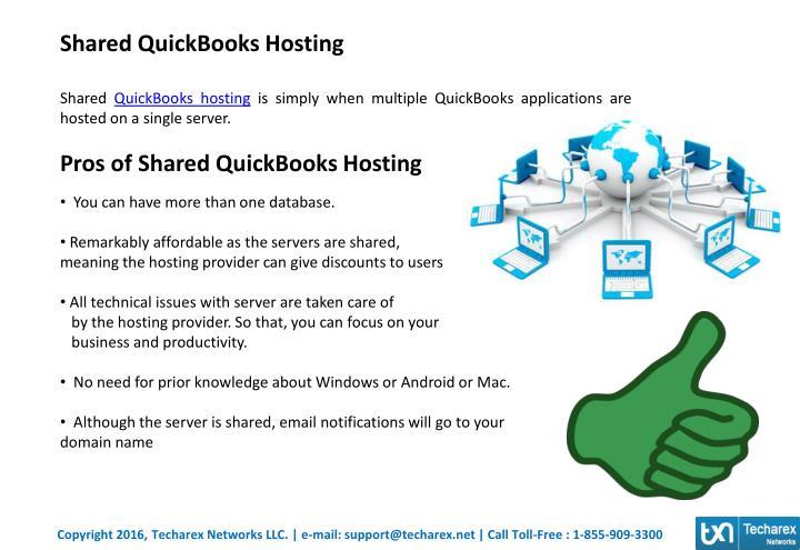 Shared QuickBooks Hosting