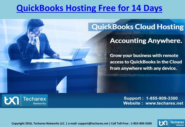 QuickBooks Hosting Free for