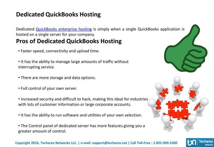 Dedicated QuickBooks Hosting