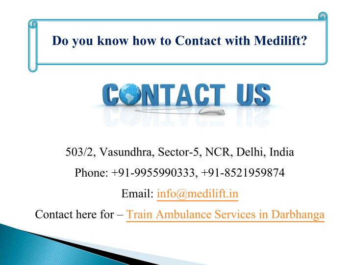 Do you know how to Contact with