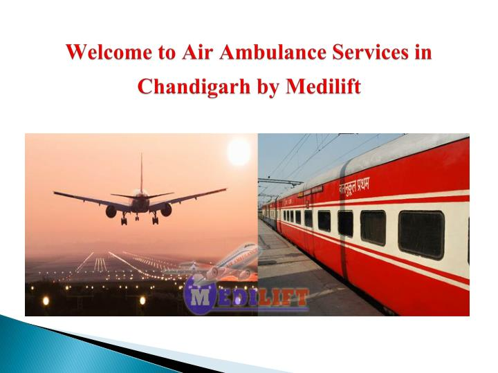 Welcome to air ambulance services in chandigarh by medilift