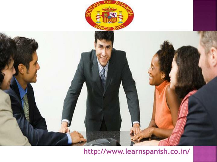 http://www.learnspanish.co.in/