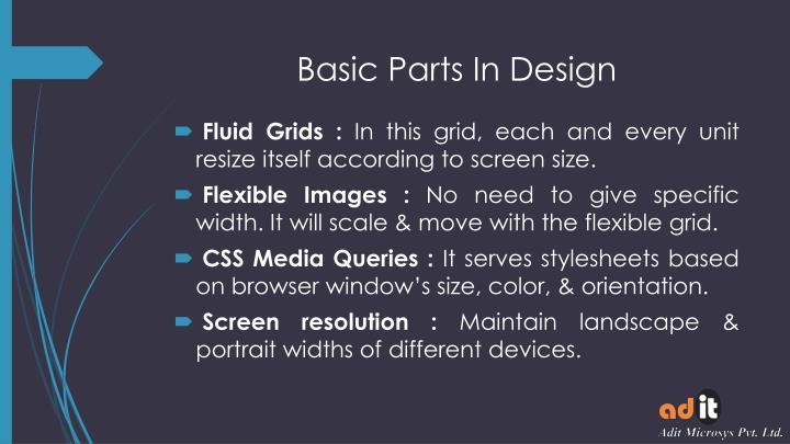 Basic Parts In Design