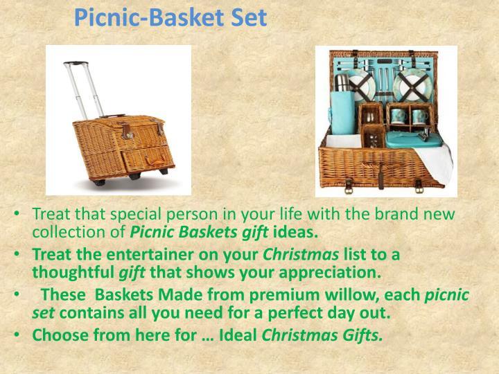 Picnic-Basket Set