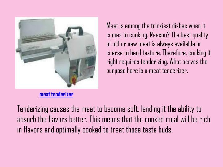 Electric manual meat tenderizers meat tenderizer
