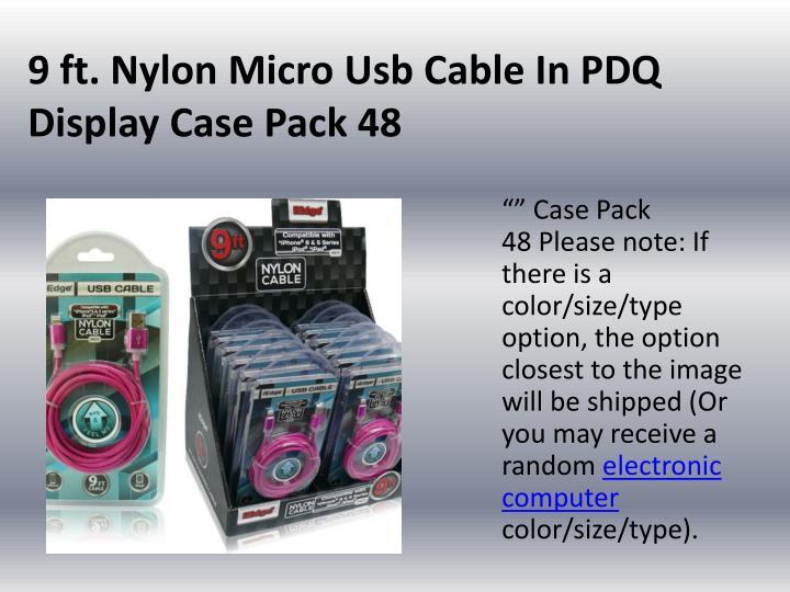 9 ft. Nylon Micro