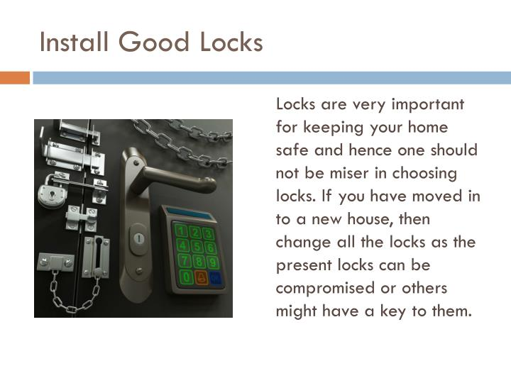 Install Good Locks