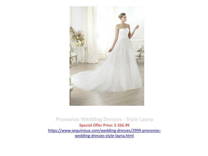 Pronovias Wedding Dresses - Style Layna