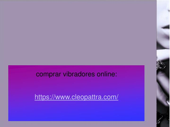 comprar vibradores online: