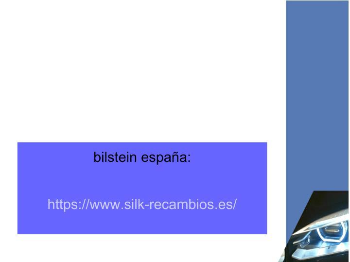bilstein españa:
