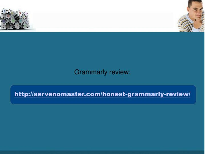 Grammarly review: