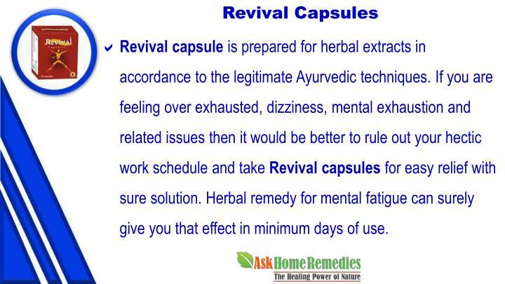 Revival Capsules