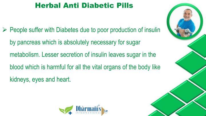 Herbal Anti Diabetic