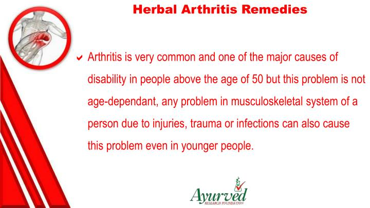 Herbal Arthritis Remedies