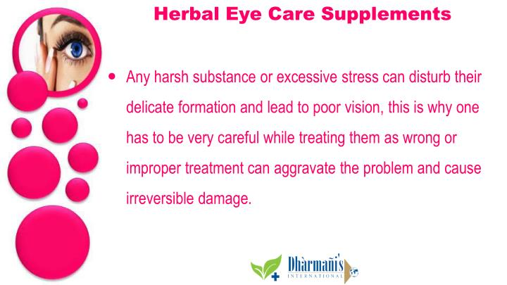 Herbal Eye Care Supplements