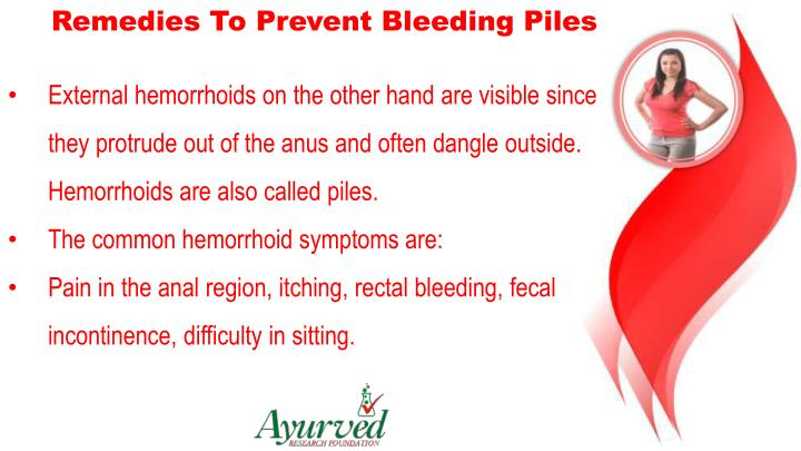 Remedies To Prevent Bleeding Piles