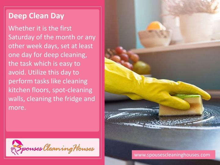 Deep Clean Day