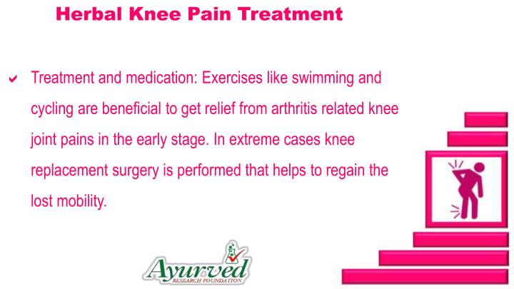 Herbal Knee Pain Treatment