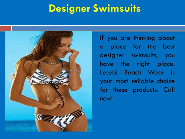 Designer Swimsuits