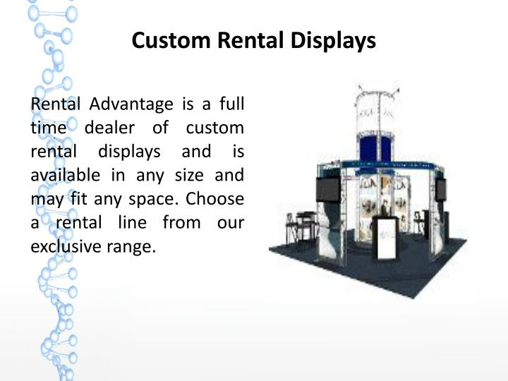 Custom Rental Displays