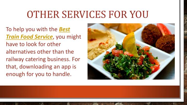 Other Services for