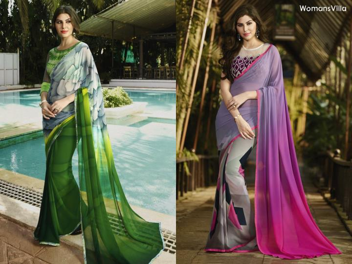 Womansvilla casual sarees online collection november 2016