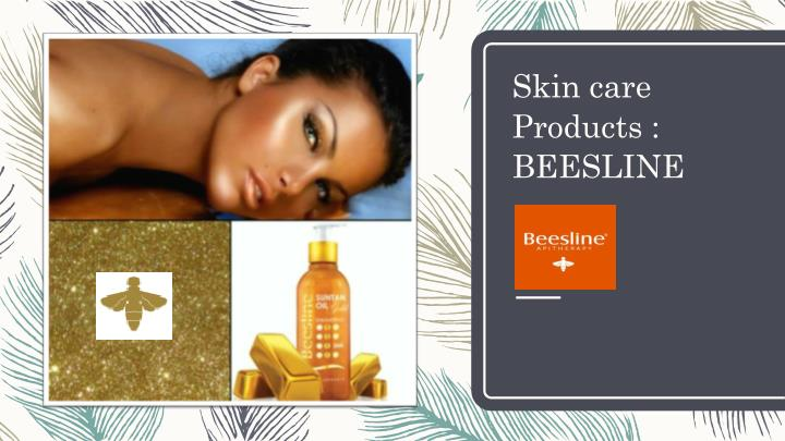 Skin care Products : BEESLINE