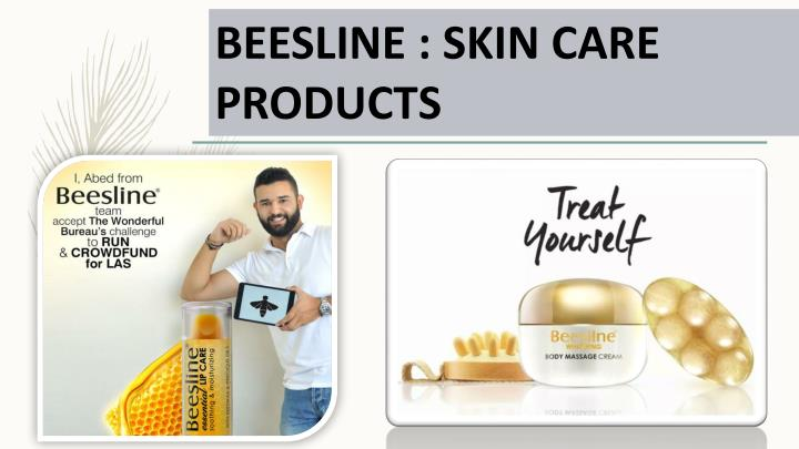 BEESLINE : SKIN CARE PRODUCTS