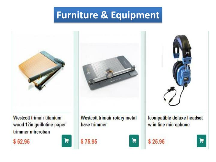 Furniture & Equipment