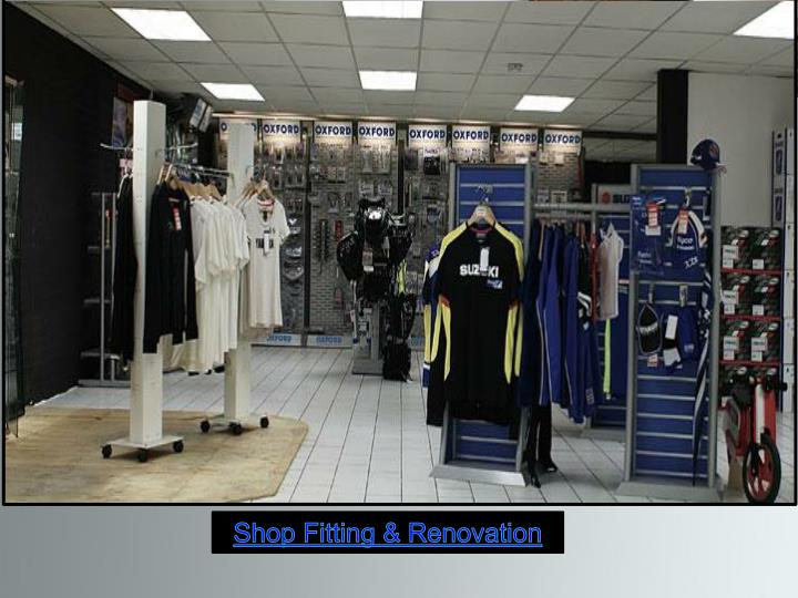 Shop Fitting & Renovation