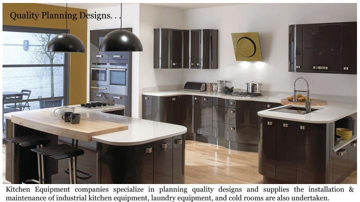 Quality Planning Designs