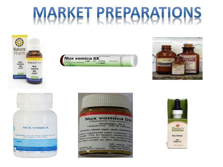 Market Preparations