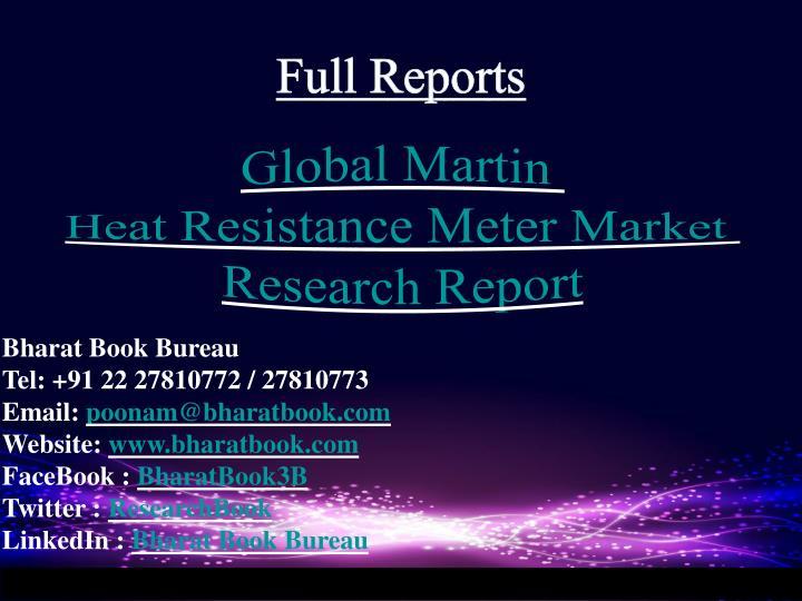 Full Reports