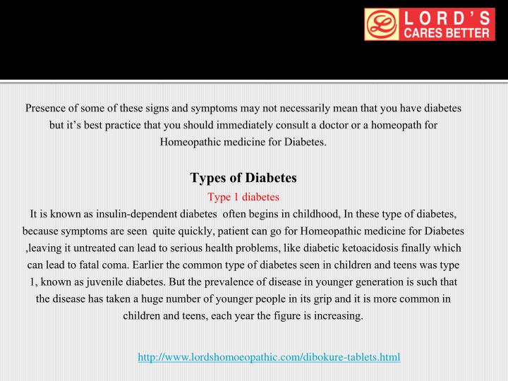 Presence of some of these signs and symptoms may not necessarily mean that you have diabetes but it's best practice that you should immediately consult a