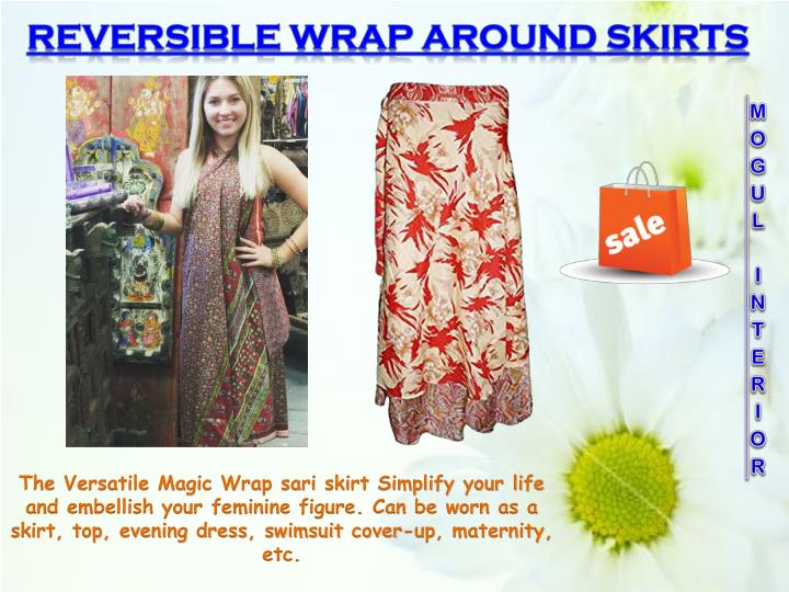 REVERSIBLE WRAP AROUND SKIRTS