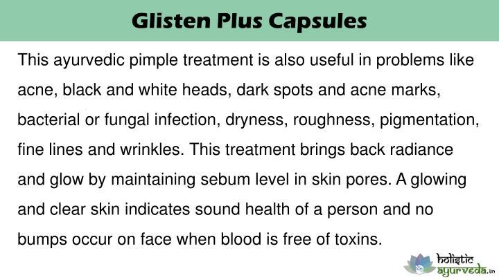 Glisten Plus Capsules