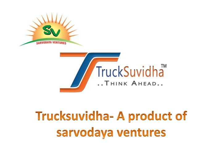 How to use your registered account with trucksuvidha