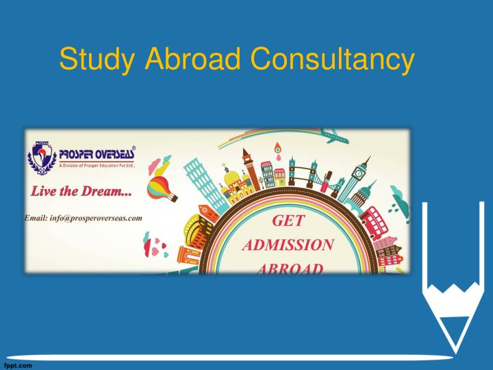 Study abroad consultancy