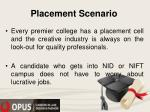 placement scenario