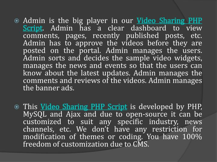 Admin is the big player in our