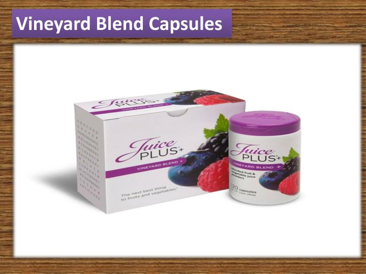 Vineyard Blend Capsules