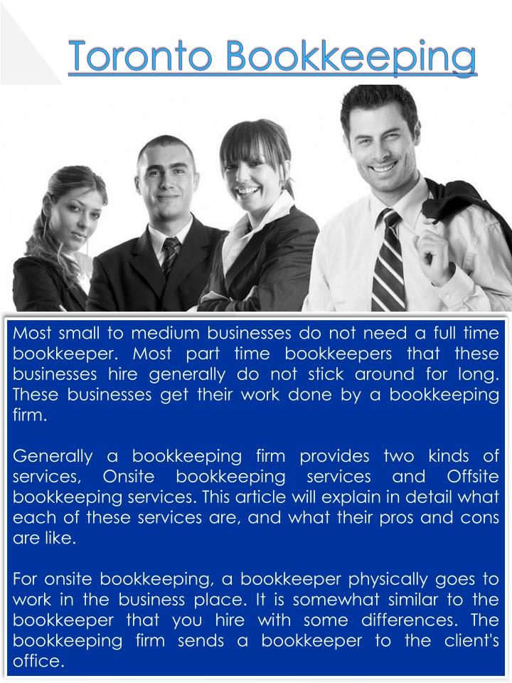 Toronto Bookkeeping