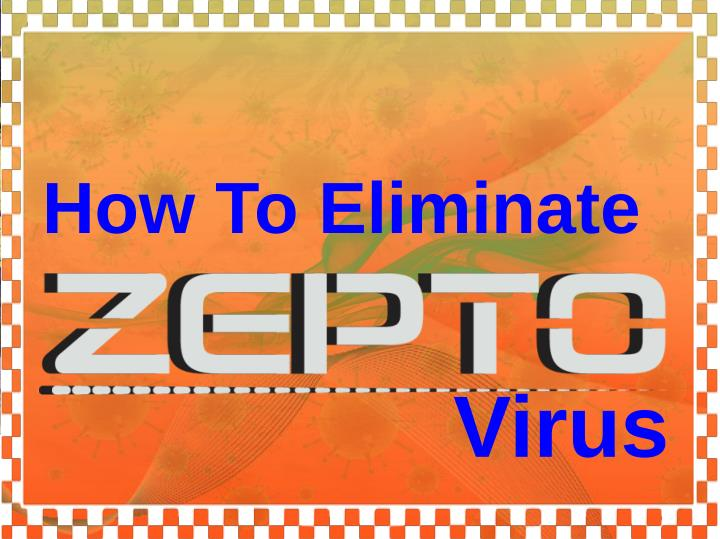 How To Eliminate