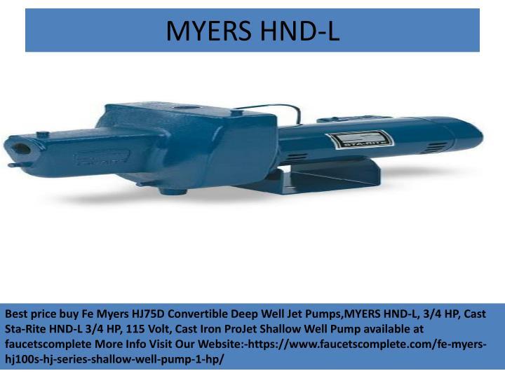 MYERS HND-L