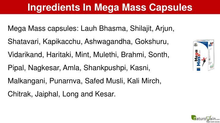 Ingredients In Mega