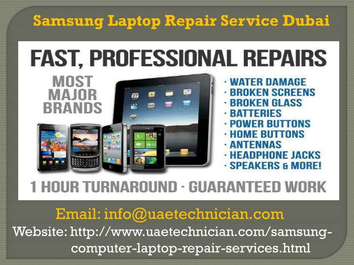 Samsung Laptop Repair Service