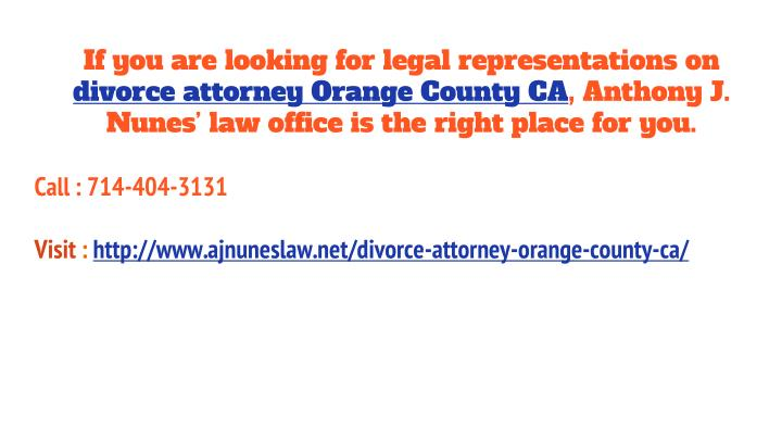 If you are looking for legal representations on
