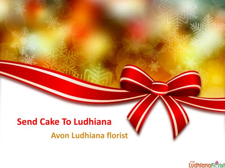 send cake to ludhiana