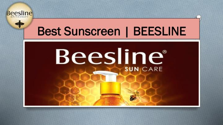 Best sunscreen beesline