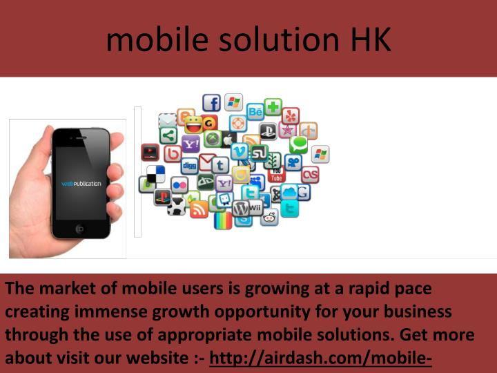 mobile solution